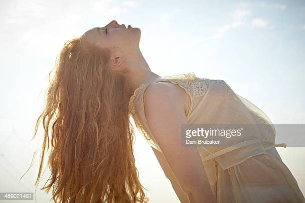 Actress Molly Quinn is photographed for Self Assignment on September 10 2013 in El Segundo California