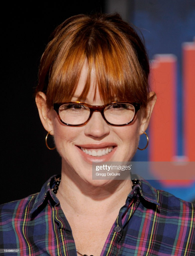 Actress Molly Ringwald arrives at the Los Angeles premiere of 'Wreck-It Ralph' at the El Capitan Theatre on October 29, 2012 in Hollywood, California.