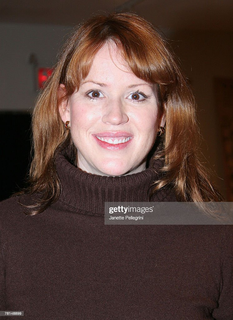 Actress Molly Ringwald attends a reading at the 'Traveling Bears' book series debut at The Children's Museum of Manhattan November 29, 2007 in New York City.
