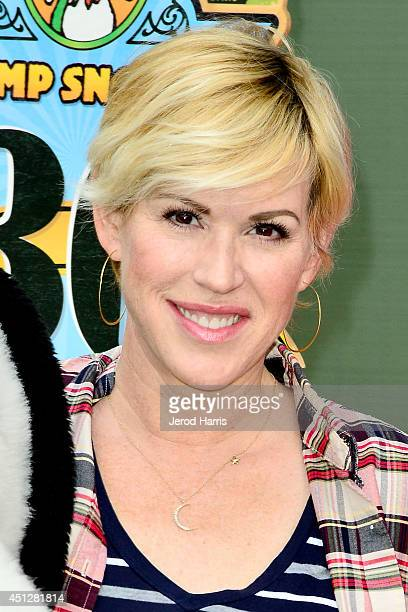 Actress Molly Ringwald attends Camp Snoopy's 30th anniversary VIP party at Knott's Berry Farm on June 26 2014 in Buena Park California