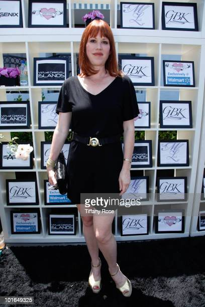 Actress Molly Ringwald attends GBK's Gift Lounge in Honor of the 2010 MTV Movie Awards Day 2 at The London Hotel on June 5 2010 in West Hollywood...