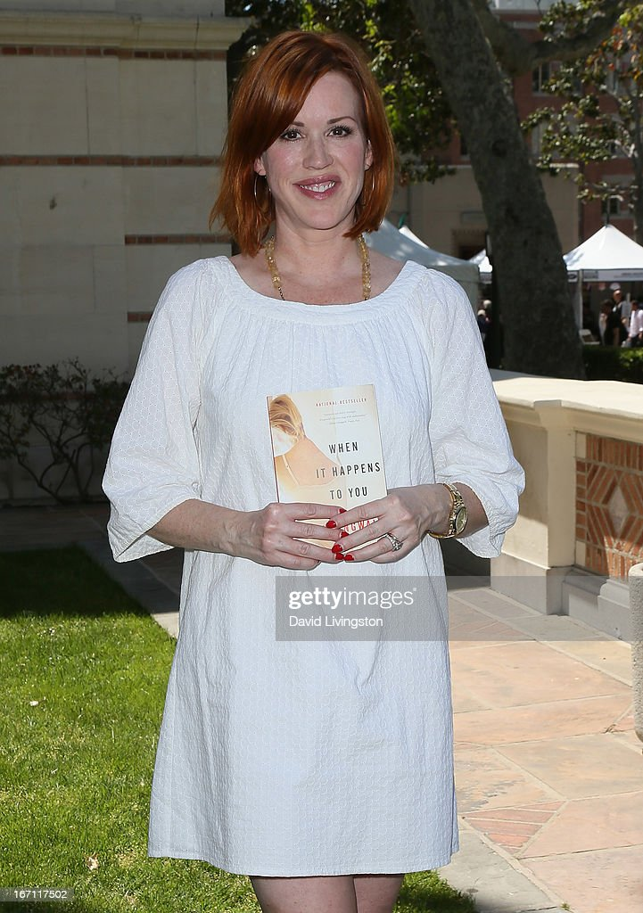 Actress Molly Ringwald attends the 18th Annual Los Angeles Times Festival of Books - Day 1 at the University of Southern California on April 20, 2013 in Los Angeles, California.
