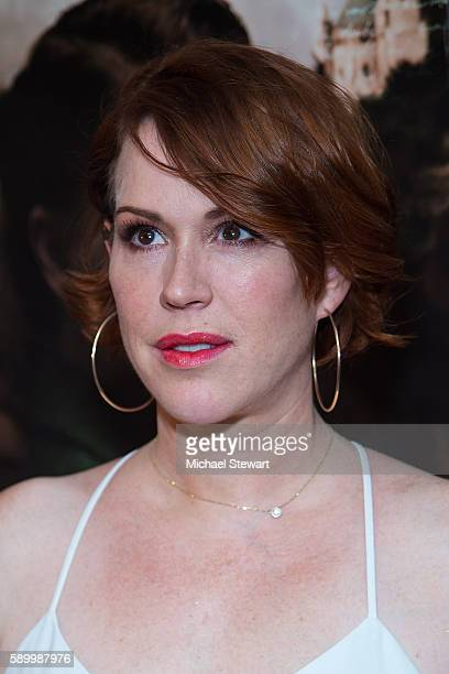 Actress Molly Ringwald attends the 'A Tale Of Love Darkness' New York premiere at Crosby Street Hotel on August 15 2016 in New York City
