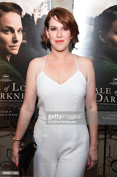 Actress Molly Ringwald attends the premiere for 'A Tale Of Love Darkness' at Crosby Street Hotel on August 15 2016 in New York City