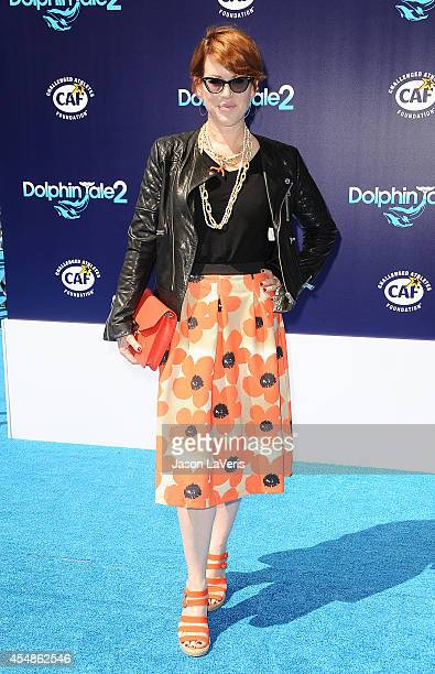 Actress Molly Ringwald attends the premiere of 'Dolphin Tale 2' at Regency Village Theatre on September 7 2014 in Westwood California