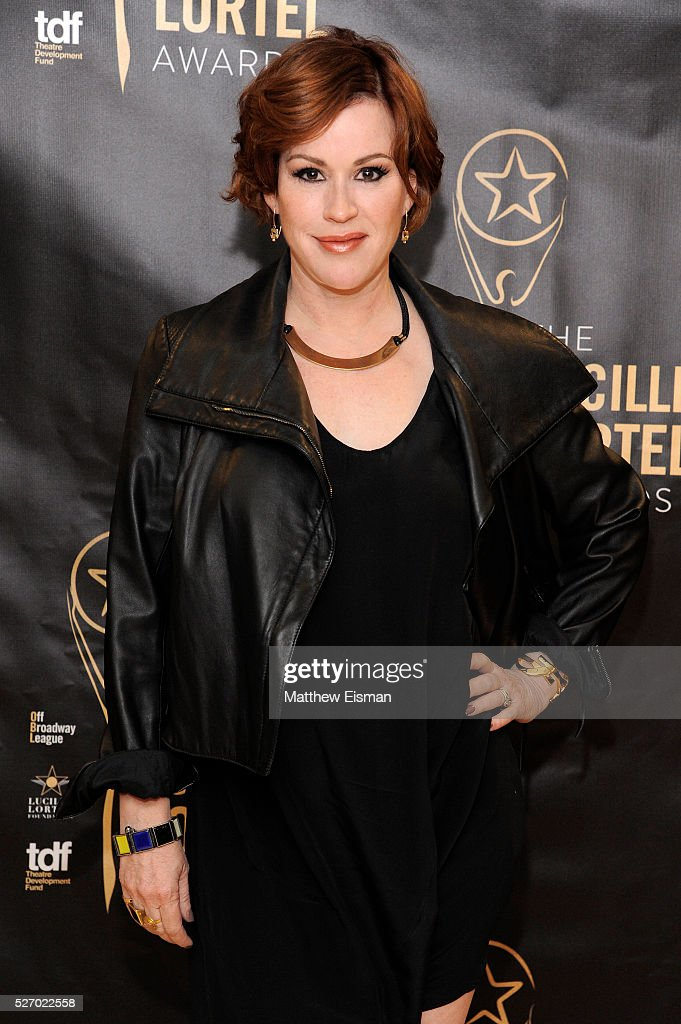 Actress <a gi-track='captionPersonalityLinkClicked' href=/galleries/search?phrase=Molly+Ringwald&family=editorial&specificpeople=206508 ng-click='$event.stopPropagation()'>Molly Ringwald</a> attends the press room for the 31st Annual Lucille Lortel Awards at NYU Skirball Center on May 1, 2016 in New York City.