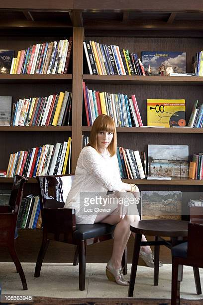 Actress Molly Ringwald poses for a portrait for the New York Times in New York City in April 2010 Published image