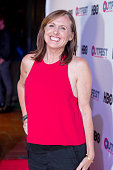 Actress Molly Shannon arrives at the 2016 Outfest Los Angeles Closing Night Gala Of 'Other People' at The Theatre at Ace Hotel on July 17 2016 in Los...