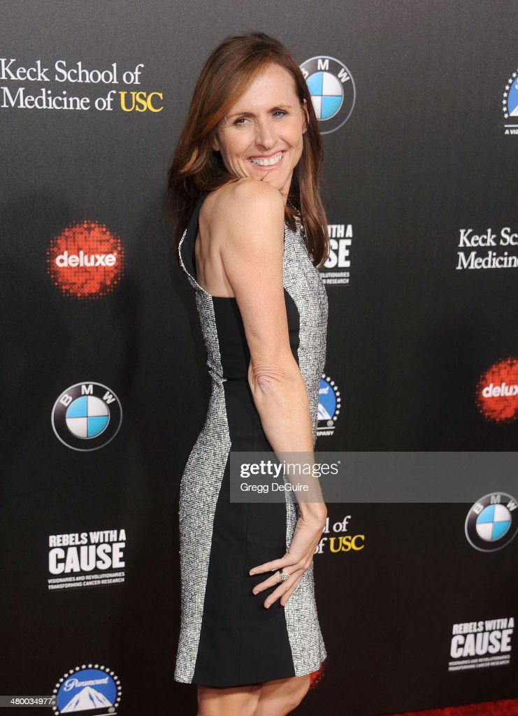 Actress <a gi-track='captionPersonalityLinkClicked' href=/galleries/search?phrase=Molly+Shannon&family=editorial&specificpeople=213534 ng-click='$event.stopPropagation()'>Molly Shannon</a> arrives at the 2nd Annual Rebel With A Cause Gala at Paramount Studios on March 20, 2014 in Hollywood, California.