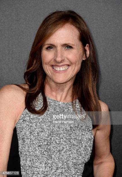 Actress Molly Shannon arrives at the 2nd Annual Rebels With A Cause Gala at Paramount Studios on March 20 2014 in Hollywood California