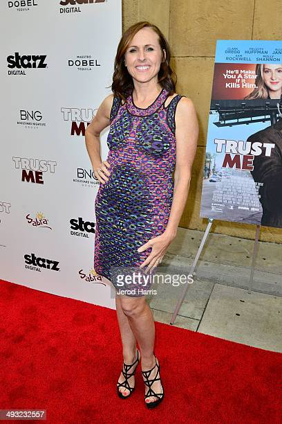 Actress Molly Shannon arrives at the Los Angeles Premiere of 'Trust Me' at the Egyptian Theatre on May 22 2014 in Hollywood California