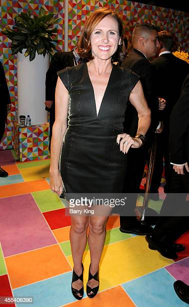 Actress Molly Shannon attends HBO's 2014 Emmy after party at The Plaza at the Pacific Design Center on August 25 2014 in Los Angeles California