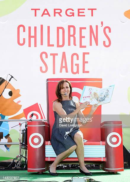Actress Molly Shannon attends the 17th annual Los Angeles Times Festival of Books Day 1 at USC on April 21 2012 in Los Angeles California