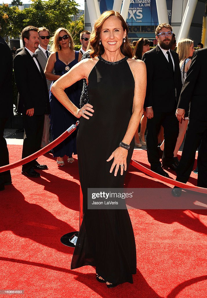 Actress <a gi-track='captionPersonalityLinkClicked' href=/galleries/search?phrase=Molly+Shannon&family=editorial&specificpeople=213534 ng-click='$event.stopPropagation()'>Molly Shannon</a> attends the 2013 Creative Arts Emmy Awards at Nokia Theatre L.A. Live on September 15, 2013 in Los Angeles, California.