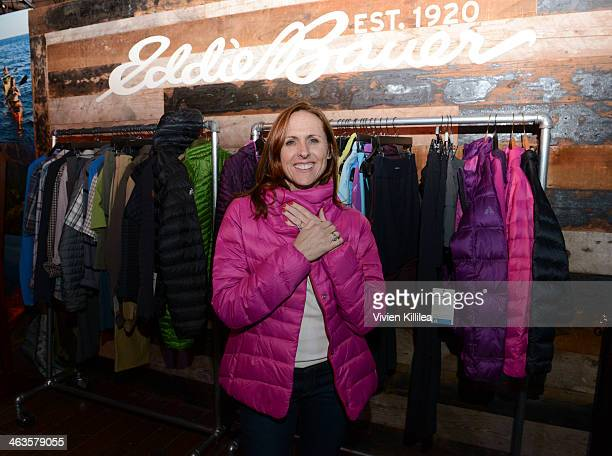 Actress Molly Shannon attends The Eddie Bauer Adventure House Day 2 2014 Park City on January 18 2014 in Park City Utah