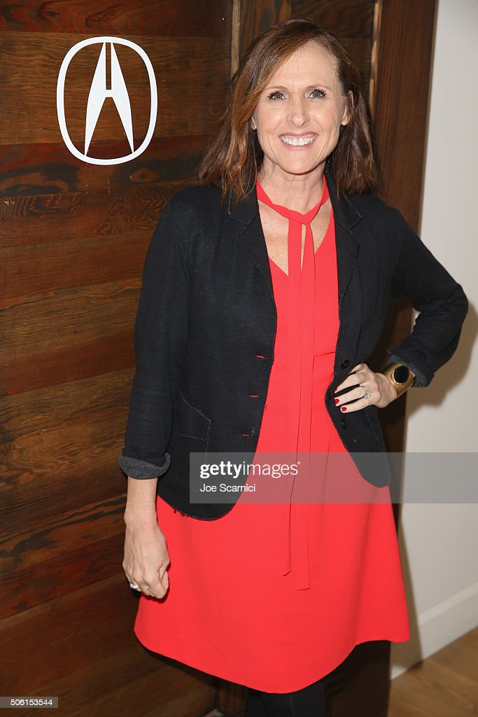 Actress Molly Shannon attends the 'Other People' Dinner at The Acura Studio at Sundance Film Festival 2016 on January 21 2016 in Park City Utah