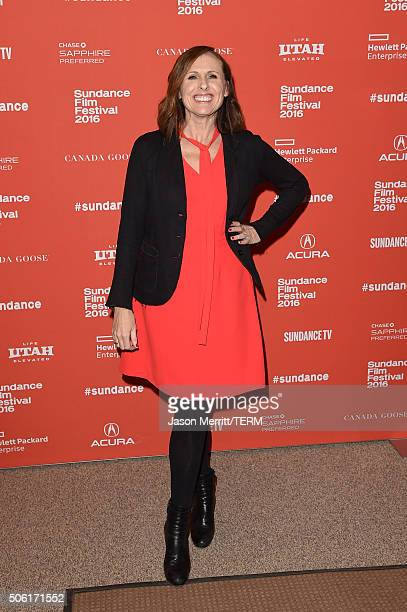 Actress Molly Shannon attends the 'Other People' Premiere during the 2016 Sundance Film Festival at Eccles Center Theatre on January 21 2016 in Park...