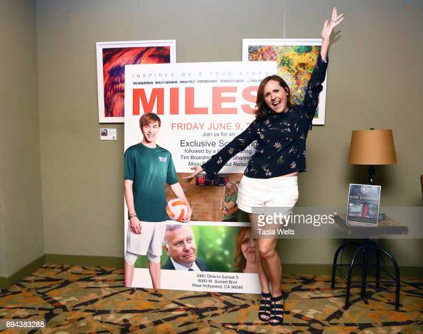 Actress Molly Shannon attends the premiere of Freestyle Releasing's 'Miles' at AMC DineIn Sunset 5 on June 9 2017 in Los Angeles California