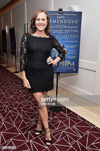 Actress Molly Shannon attends the premiere of Vertical Entertainment's 'Other People' at The London West Hollywood on August 31 2016 in West...