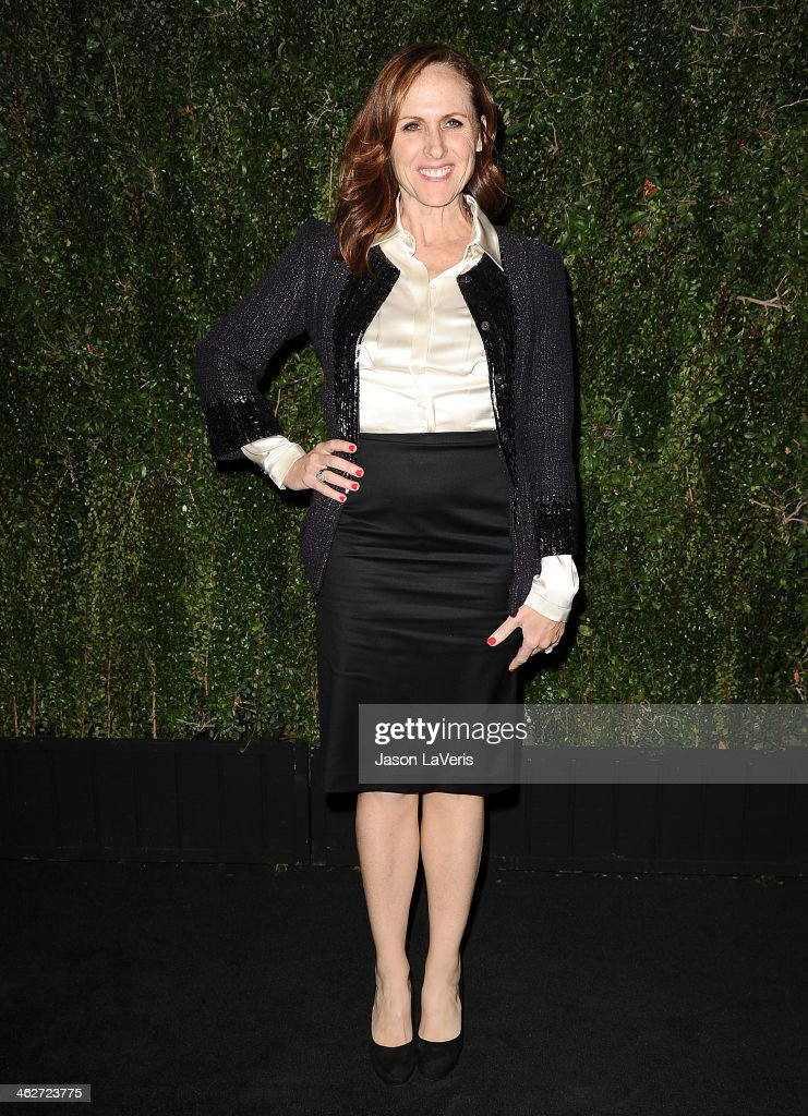 Actress <a gi-track='captionPersonalityLinkClicked' href=/galleries/search?phrase=Molly+Shannon&family=editorial&specificpeople=213534 ng-click='$event.stopPropagation()'>Molly Shannon</a> attends the release of 'Find It In Everything' at Chanel Boutique on January 14, 2014 in Beverly Hills, California.