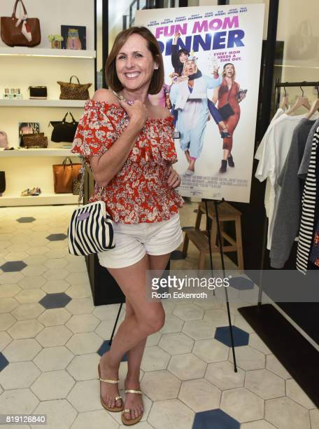 Actress Molly Shannon attends the release party for 'Fun Mom Dinner' at Clare V on July 19 2017 in West Hollywood California