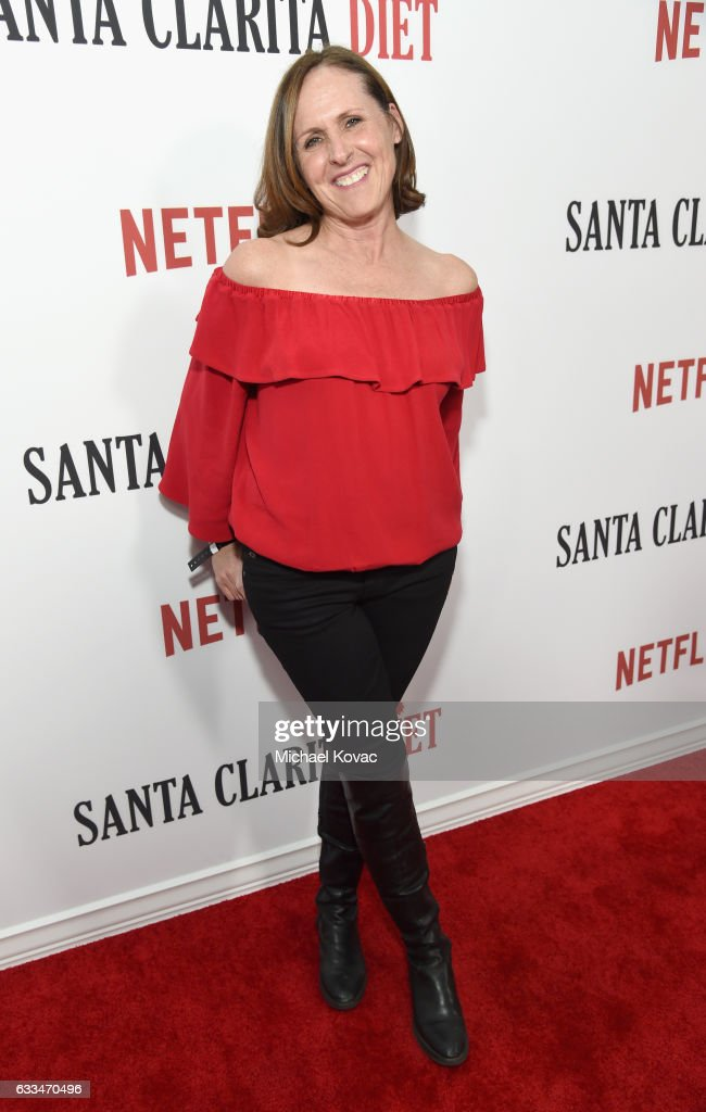 Actress Molly Shannon attends the 'Santa Clarita Diet' Premiere on February 1, 2017 in Los Angeles, California.