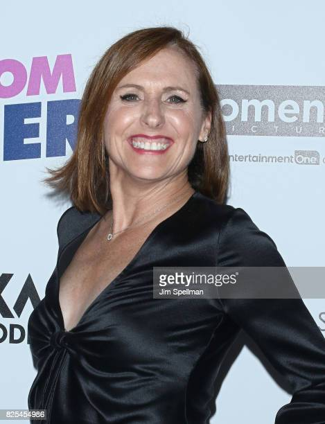 Actress Molly Shannon attends the screening of 'Fun Mom Dinner' hosted by Momentum Pictures with The Cinema Society and SVEDKA at Landmark Sunshine...