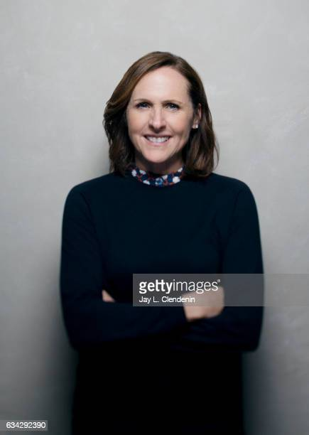 Actress Molly Shannon from the film 'Thoroughbred' is photographed at the 2017 Sundance Film Festival for Los Angeles Times on January 20 2017 in...