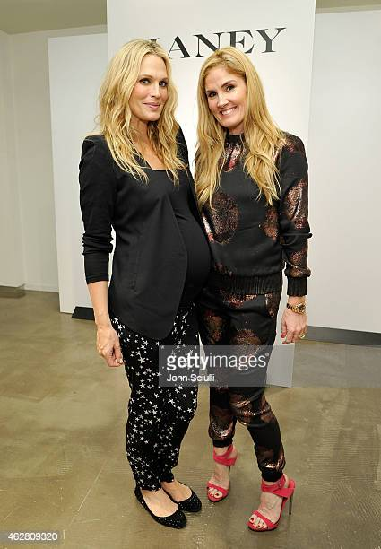 Actress Molly Sims and Designer Mary Alice Haney attend the Mary Alice Haney private event at Saks Fifth Avenue Beverly Hills on February 5 2015 in...