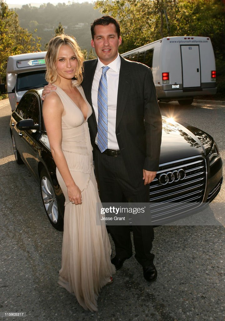 Actress Molly Sims and producer Scott Stuber arrive to the 10th Anniversary Chrysalis Butterfly Ball held at a private residence on June 11 2011 in...