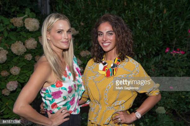 Actress Molly Sims and Shari Loeffler attend the Samantha Yanks and Molly Sims Reception to Celebrate Jimmy Choo at c/o The Maidstone on August 31...