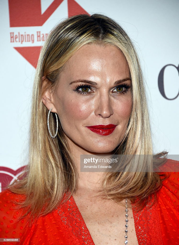 Actress Molly Sims arrives at The Helping Hand of Los Angeles' 87th Anniversary Mother's Day Luncheon and Fashion Show at the Beverly Wilshire Four Seasons Hotel on May 6, 2016 in Beverly Hills, California.