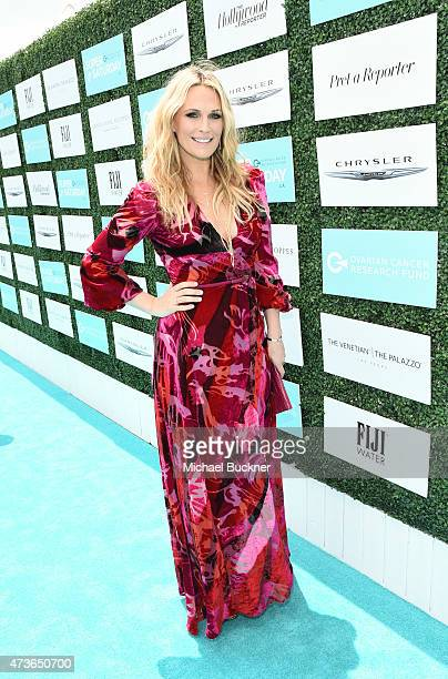 Actress Molly Sims attends OCRF's 2nd Annual Super Saturday LA on May 16 2015 in Santa Monica California