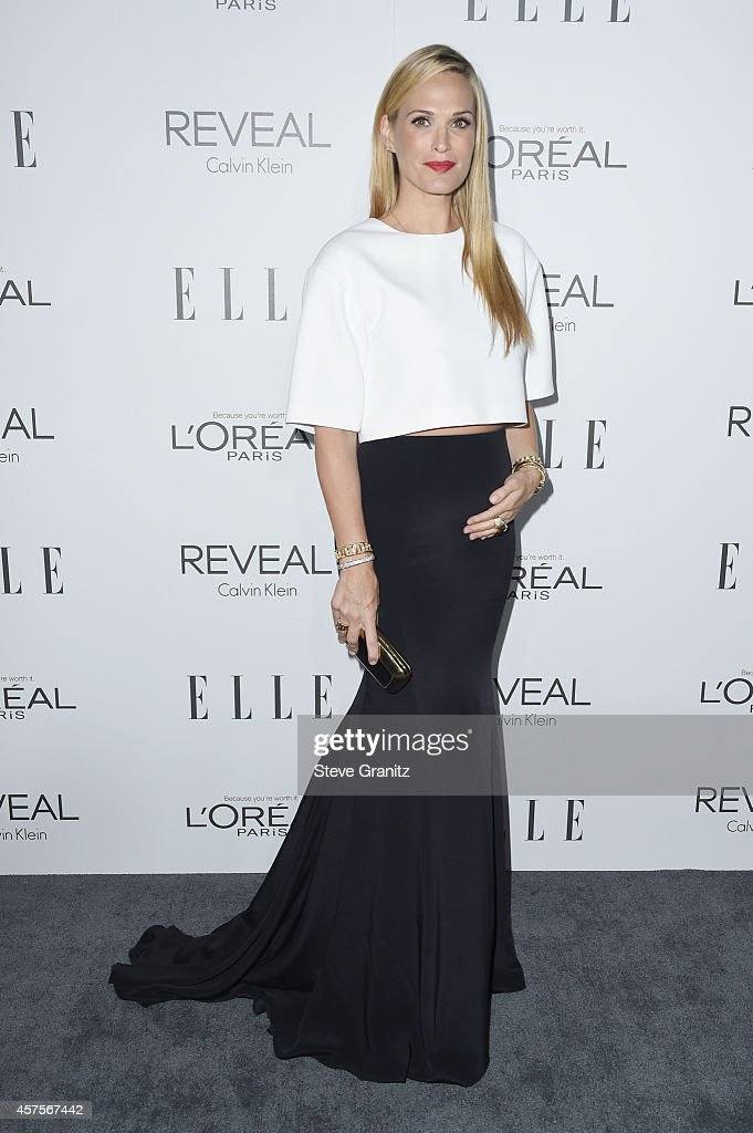 Actress Molly Sims attends the 2014 ELLE Women In Hollywood Awards at the Four Seasons Hotel on October 20 2014 in Beverly Hills California