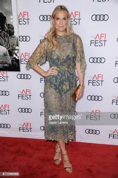 Actress Molly Sims attends the 2017 AFI Fest opening night gala screening of 'Mudbound' at TCL Chinese Theatre on November 9 2017 in Hollywood...