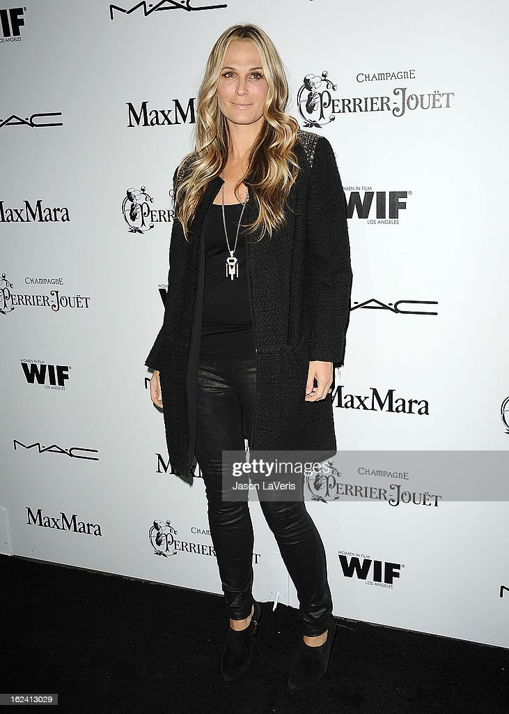 Actress Molly Sims attends the 6th annual Women In Film pre-Oscar cocktail party at Fig & Olive Melrose Place on February 22, 2013 in West Hollywood, California.