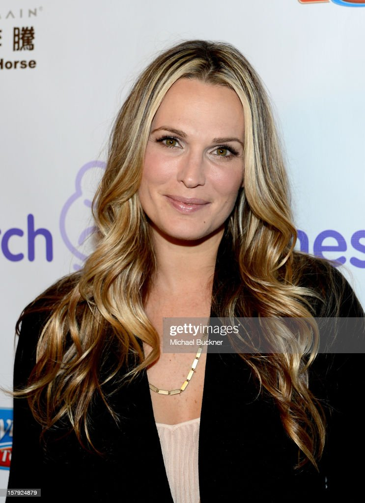 Actress Molly Sims attends the 7th Annual March of Dimes Celebration of Babies, a Hollywood Luncheon, at the Beverly Hills Hotel on December 7, 2012 in Beverly Hills, California.