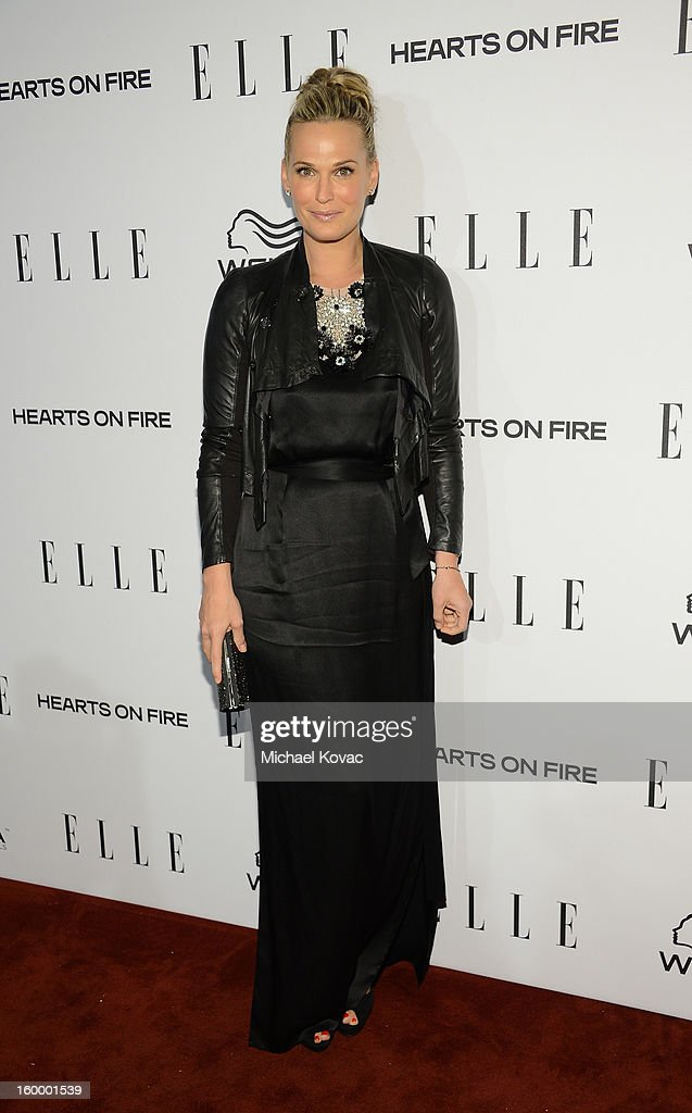 Actress Molly Sims attends the ELLE's Women in Television Celebration at Soho House on January 24, 2013 in West Hollywood, California.