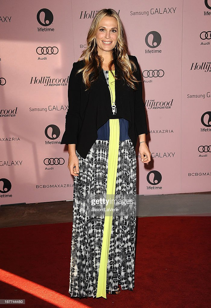 Actress Molly Sims attends the Hollywood Reporter's 21st annual Women In Entertainment breakfast at The Beverly Hills Hotel on December 5, 2012 in Beverly Hills, California.