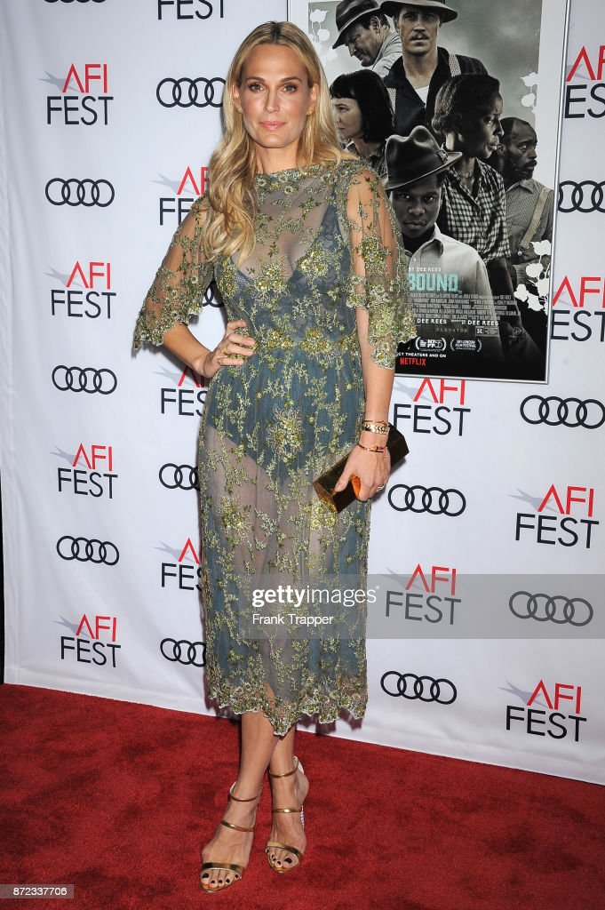 Actress Molly Sims attends the screening of Netflix's 'Mudbound' at the Opening Night Gala of AFI FEST 2017 Presented By Audi at TCL Chinese Theatre on November 9, 2017 in Hollywood, California.