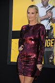 Actress Molly Sims attends the Warner Bros Pictures premiere of 'Central Intelligence' held at Regency Village Theater on June 10 2016 in Westwood...