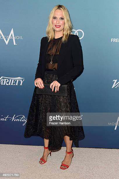 Actress Molly Sims attends Variety's Power Of Women Luncheon at the Beverly Wilshire Four Seasons Hotel on October 9 2015 in Beverly Hills California