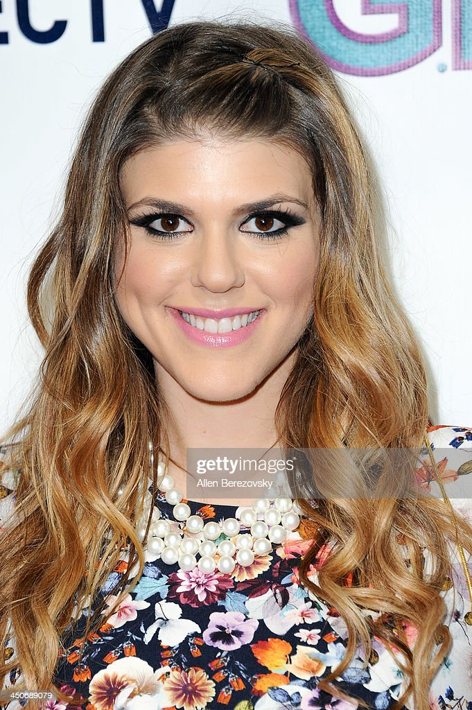 Actress Molly Tarlov arrives at the Los Angeles premiere of 'G.B.F.' at Chinese 6 Theater Hollywood on November 19, 2013 in Hollywood, California.