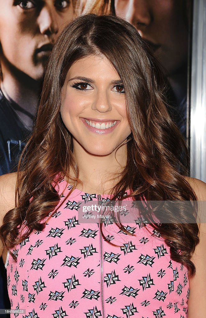 Actress Molly Tarlov arrives at the Los Angeles premiere of 'The Mortal Instruments: City Of Bones' at ArcLight Cinemas Cinerama Dome on August 12, 2013 in Hollywood, California.