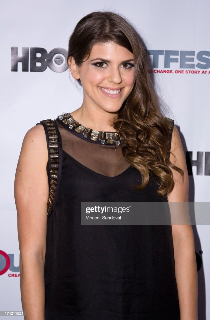 Actress <a gi-track='captionPersonalityLinkClicked' href=/galleries/search?phrase=Molly+Tarlov&family=editorial&specificpeople=7810085 ng-click='$event.stopPropagation()'>Molly Tarlov</a> attends the 2013 Outfest Film Festival closing night gala of 'G.B.F.' at Ford Theatre on July 21, 2013 in Hollywood, California.