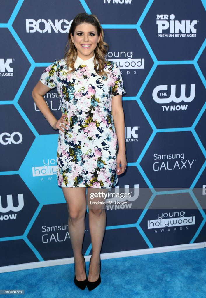 Actress Molly Tarlov attends the 2014 Young Hollywood Awards brought to you by Samsung Galaxy at The Wiltern on July 27, 2014 in Los Angeles, California.