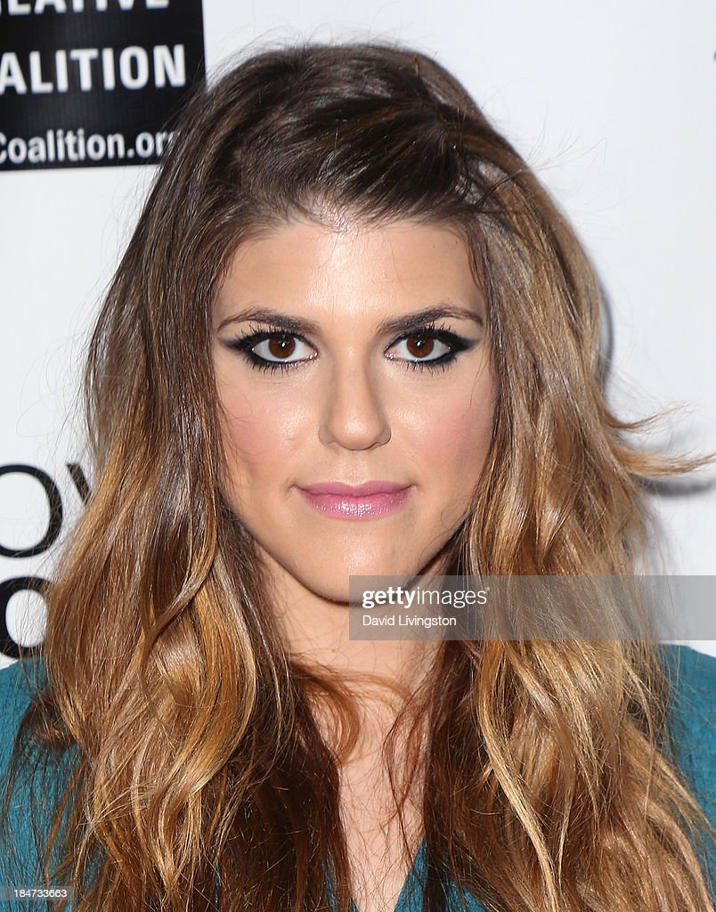 Actress <a gi-track='captionPersonalityLinkClicked' href=/galleries/search?phrase=Molly+Tarlov&family=editorial&specificpeople=7810085 ng-click='$event.stopPropagation()'>Molly Tarlov</a> attends the premiere of 'Bridegroom' at the AMPAS Samuel Goldwyn Theater on October 15, 2013 in Beverly Hills, California.