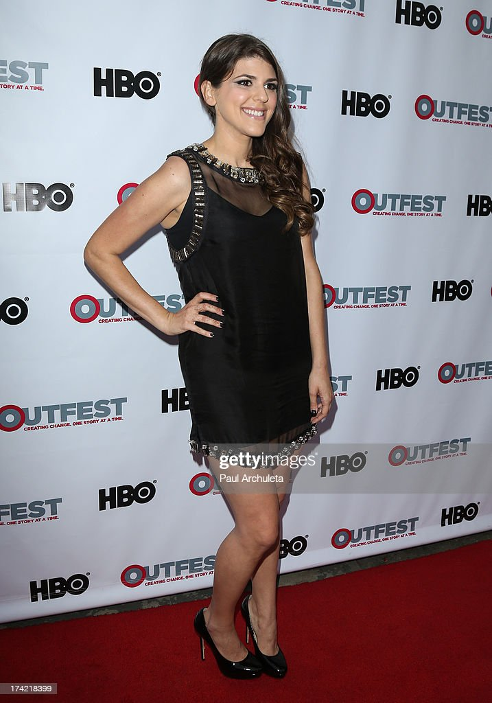 Actress Molly Tarlov attends the screening of 'G.B.F.' at the 2013 Outfest film festival closing night gala at the Ford Theatre on July 21, 2013 in Hollywood, California.