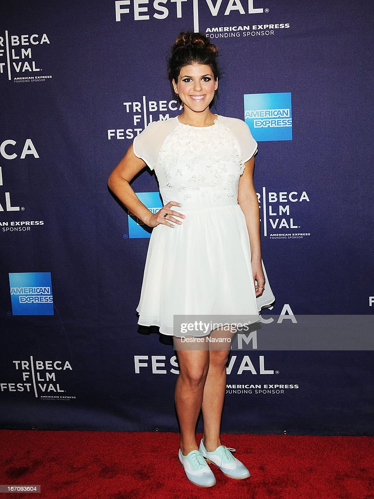 Actress Molly Tarlov attends the screening of 'G.B.F.' during the 2013 Tribeca Film Festival at Chelsea Clearview Cinemas on April 19, 2013 in New York City.