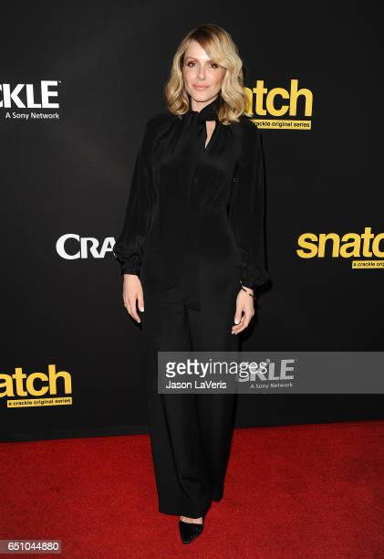 Actress Monet Mazur attends the premiere of 'Snatch' at Arclight Cinemas Culver City on March 9 2017 in Culver City California